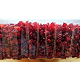 Bérberos secas, de primera calidad altos en fibra merienda saludable, de 200 gramos, 100% puro, de sabor agrio, lleno de vitaminas y minerales.