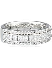 Esprit Damen-Ring 925 Sterling Silber Zirkonia Exquisite ESRG92334A1