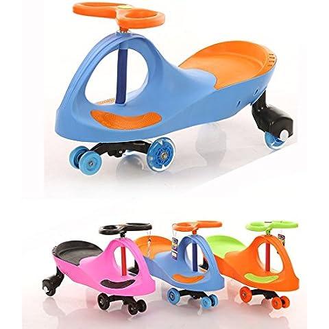 Fascol® Patinete Infantil , Coche correpasillos, Ruedas de poliuretano,Bicicleta sin pedales para niños 3 y 8