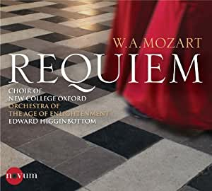 Mozart: Requiem by New College Choir Oxford, Orchestra Of The Age Of Enlightenment (2011) Audio CD