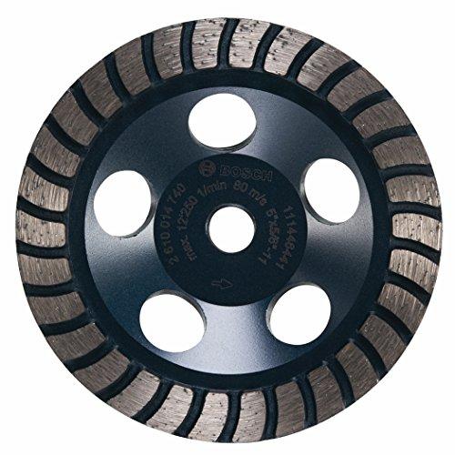 m Durchmesser Turbo Zeile Diamant-Schleiftopf mit 5/8-11Hub ()