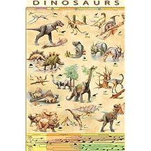 dinosaurios 61 x 91 cm Póster
