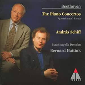 Beethoven: The Piano Concertos 1-5, Piano Sonata Appassionata