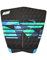 TAIL PAD 2 PIECES MICRODOT CAM RICHARDS BLACK/BLUE/GREEN