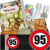 Zahl - 95 | Schnaps selber machen Set | Geschenke 95 Geburtstag Frauen lustig