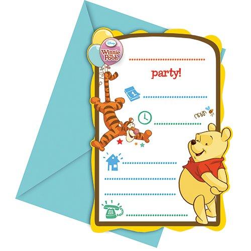 Winnie Pooh Party Supplies The (Disney Winnie the Pooh Party Einladungen,)