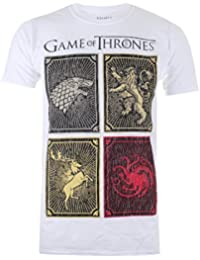 Game of Thrones Men's House Squares T-Shirt
