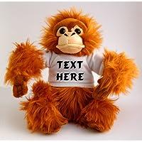 Shopzeus Personalised Monkey (Orangutan) Plush Toy - Custom Orangutan