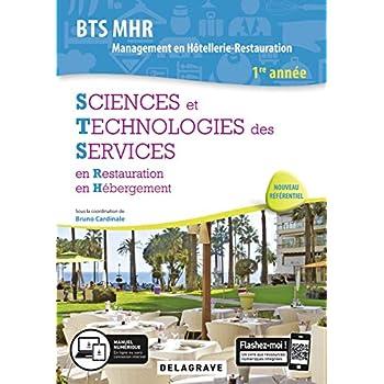 Sciences et Technologies des Services BTS MHR 1re