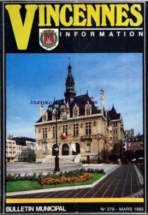 vincennes-no-379-du-01-03-1985-championnat-de-france-feminin-de-judo-au-centre-sportif-georges-pompidou-sport-jeunesse-85-le-comite-municipal-des-sports-presente-dans-le-cadre-de-challenge-international-d-39-escrime-resultats-du-cercle-d-39-escrime-de-vincennes-pour-le-premier-trimestre-de-la-saison-1984-1985-karate-club-de-vincennes