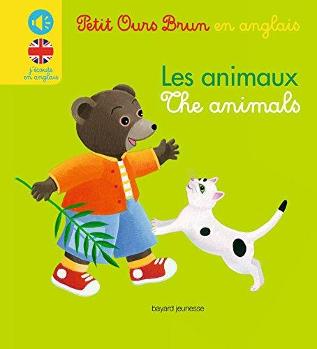 Mini sonore Petit Ours Brun en anglais - Les animaux