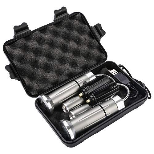 51uwHzN5b L - AimTop LED Grill Licht, 2 Pack Magnetische BBQ Licht Flexibel Grill Lampe 360°Verstellbare Outdoor Grill Lichter Grillen Zubehör mit 5 Beleuchtungsmodi, Grill Taschenlampe Arbeitsleuchte