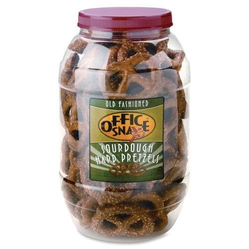 Wholesale CASE of 10 – Office Snax Giant Sourdough Pretzel Twists-Giant Sourdough Pretzels Twist, 2.5lbs by OFX 51uwIT 8XxL