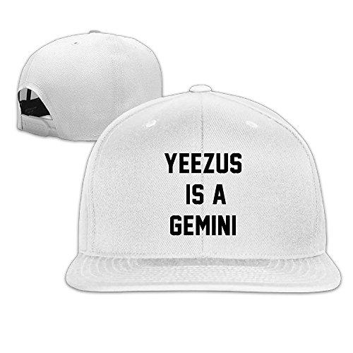 huseki-custom-yeezus-is-a-gemini-flat-baseball-caps-hats-white