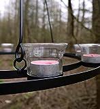 Teelichthalter/ Teelicht Kronleuchter (Sauberes Glas)
