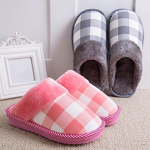 Pantofole La Ymfie Stile Invernale Di Calore Cotone Uomini Calza Di Mini All'interno Degli 34 Costosi Di Europea Dimensione G 45 v1xq15w