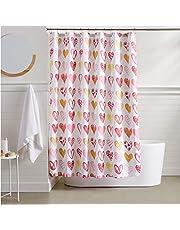 AmazonBasics Sweetheart Shower Curtain