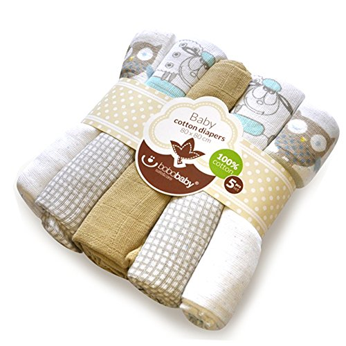 bobobaby-unisex-baby-5-pack-of-10-beige-with-owl-in-gift-bag-piel-5-s