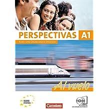 Perspectivas - A1 Al vuelo. Kurs- und Arbeitsbuch Spanisch. Inklusive 2 CDs zum Übungsteil: Europäischer Referenzrahmen: A1