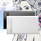 "XP-PEN Star03 12"" Graphics Drawing Pen Tablet drawing Tablet Battery-free Stylus Passive Pen Signature Painting writing Board/Pad with Transparent Film and 8 Hot Keys"
