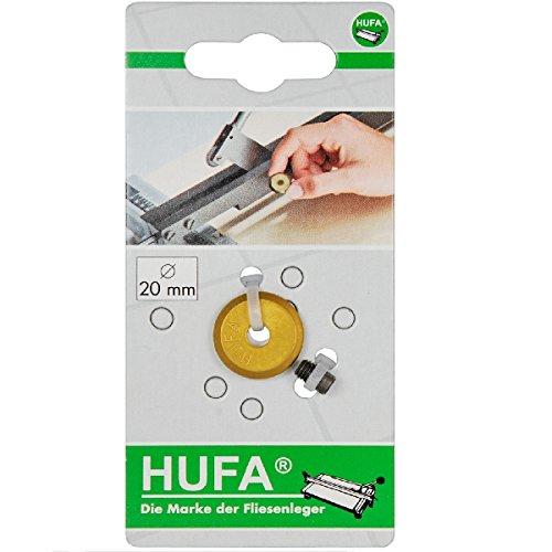 HaWe 213.07 Ersatz-Rädchen und Achse Hufa/Tin Ø20 mm