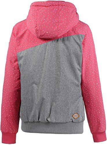 Ragwear Damen Kapuzenjacke pink