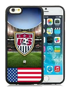 6 4.7 TPU Case,USA Soccer 11 Black iPhone 6 4.7 inch TPU case