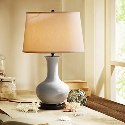 Lampe de bureau Pays Américain Cuivre En Céramique Table Lampe Tête de Lit Cuivre En Céramique Table Lampe Moderne Bureau D'étude Cuivre En Céramique Lampe de Table