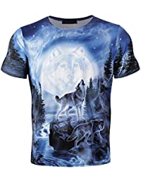 Amazon.es  lobo camiseta - 4108417031  Ropa b490096b65d
