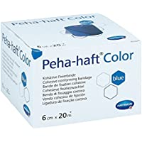 Peha Haft Color Fixierbinde 6cmx20m blau 1 stk preisvergleich bei billige-tabletten.eu