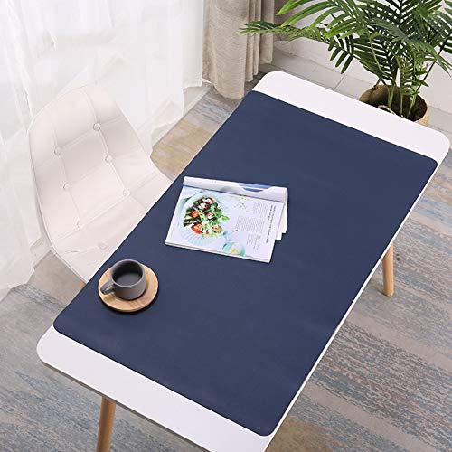 JiaQi Laptop Mauspad,Computer Leder Mat Mousepad,verlängert Leder Spiele Tischmatte Ideal Für Büro Computer Pc Tastatur Und Maus-d 70x35cm(28x14inch) (Tastatur-handgelenkauflage 14 Zoll)
