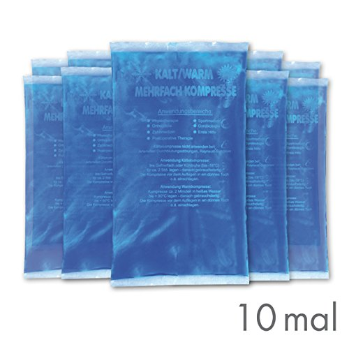 Gello Kalt-Warm Kompresse 9 x 16 cm, 1er Pack (1 x 10 Stück)