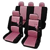 Petex Sitzbezugset Universal Eco Class Gecko 11-teilig Größe SAB 1 Vario (pink)