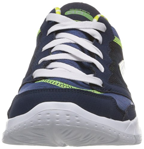 Skechers Performance Go Fit-craze Walking Shoe Navy/Lime