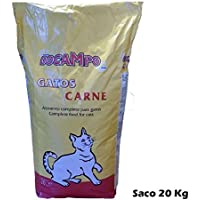 Saco de pienso 20 Kg comida para gatos DOCAMPO sabor Carne