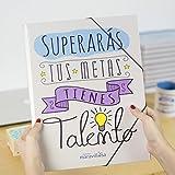 La Mente es Maravillosa - Carpeta con frase y dibujo divertido para regalo amiga (Diseño Talento)