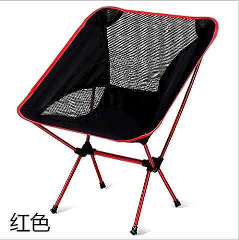 LanLan Light Folding Fishing Chair Portable Seat Stool With Carrying Bag for Camping Hiking Gardening Camping Picnic BBQ