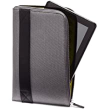 Amazon Zip Sleeve für Fire-Tablets, Silbergrau