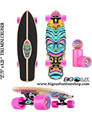 Osprey Tiki Skateboard mini cruiser Multicolore