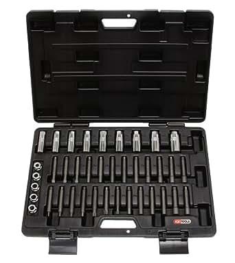 KS Tools 150.9400 Coffret d'outils de compression d'amortisseur 39 pièces