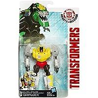 Transformers Robots in Disguise Warrior Armor de Oro de Clase Grimlock Figura