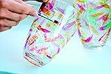 Marabu 070-Pittura per vetro, 15 ml, colore: bianco