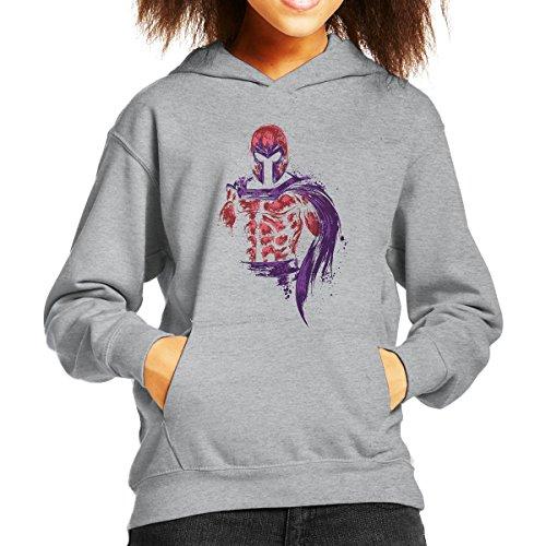 X Men Magnetic Warrior Magneto Kid's Hooded Sweatshirt