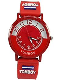 Polo House USA Men's Analog Red Dial Watch - phwGtRD1red