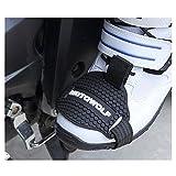 KKmoon Zapatos de Motocicleta Protector Gear Shifter Calzado Accesorios para Botas Cover Elástica Anti Abrasión Caucho Resistente Desgaste