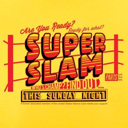 Super Slam - Herren T-Shirt - 13 Farben Gelb