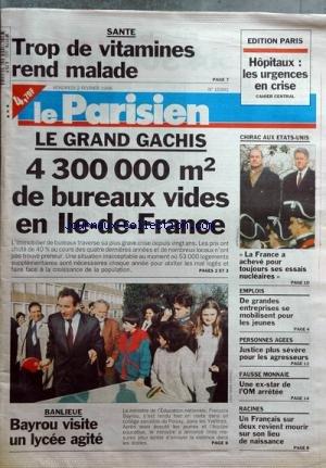 PARISIEN (LE) [No 15991] du 02/02/1996 -...