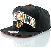 232d018ecb747 Mitchell   Ness Chicago Blackhawks Reflective Tri-Pop Snapback NHL Cap