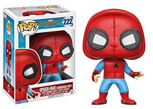 Funko - Spider-Man (Homemade Suit) figura de vinilo, colección de POP, seria Spider-Man Homecoming (13315) 2