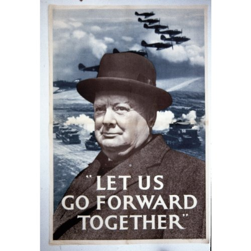 robert-opie-nostalgic-postcards-winston-churchill-let-us-go-forward-together